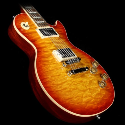 Gibson Used Gibson Les Paul Standard Electric Guitar Quilt Top Heritage Cherry Sunburst