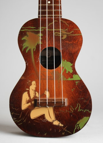 1930 Harmony Supertone Palm Tree