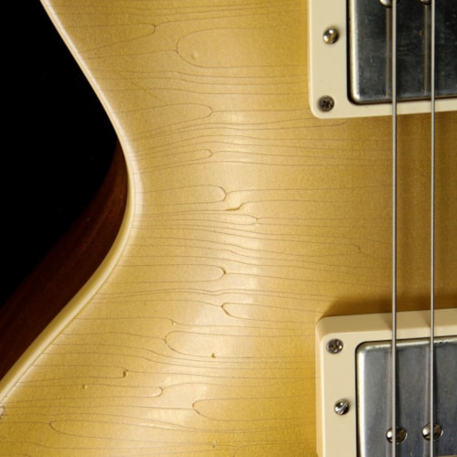 Gibson Custom Shop Used 2012 Gibson Custom Shop 50th Anniversary of Marshall Les Paul Electric Guitar Murphy Aged Goldtop