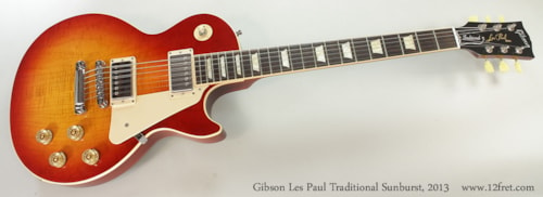 2013 Gibson Les Paul Traditional