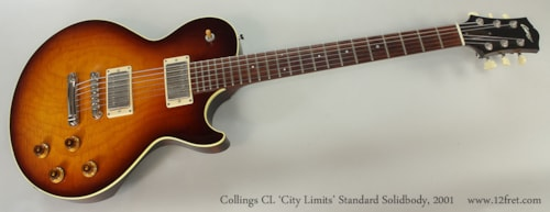 2001 Collings CL Standard