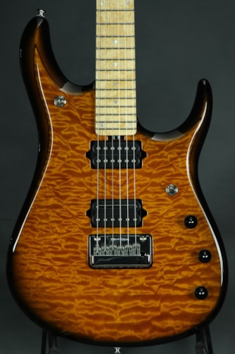 ERNIE BALL MUSIC MAN Premier Dealer Network John Petrucci 6 BFR  - Vintage Tobacc