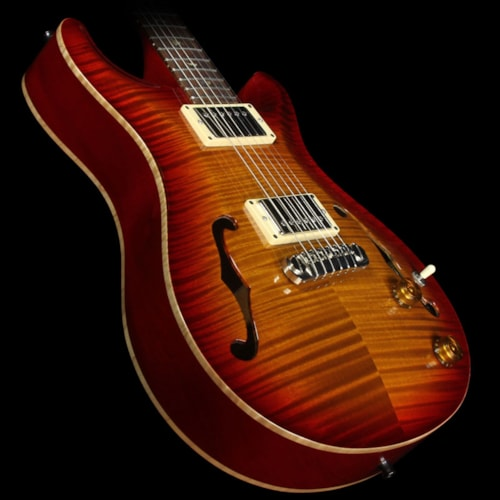 Paul Reed Smith Used 1998 Paul Reed Smith McCarty Archtop Electric Guitar Cherry Sunburst