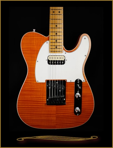 2015 Fender® Custom Shop Flame Maple Top American Custom Telecaster® HS