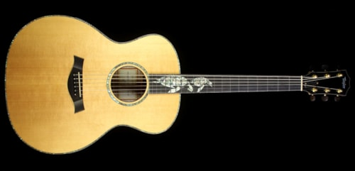 Taylor Used 2000 Taylor Limited Edition Gallery Series Sea Turtles Grand Auditorium Acoustic Guitar Natural