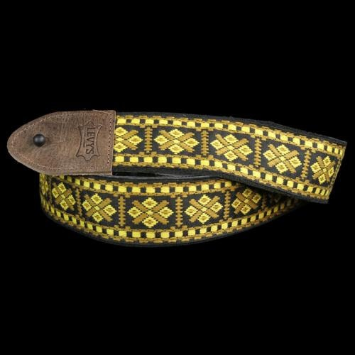 Levy's M8HTV Jacquard Weave Hootenanny Guitar Strap #17