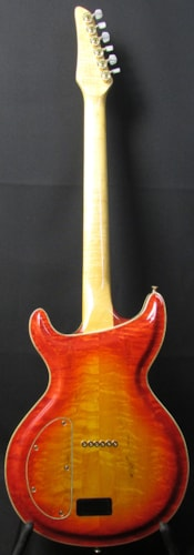 Linke Custom Made Hand-Built Carved Maple Hollowbody Electric