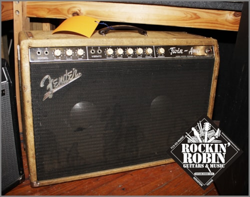 1962 Fender TWIN AMP