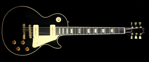 Gibson Used 1991 Gibson 40th Anniversary Les Paul Standard Electric Guitar Black