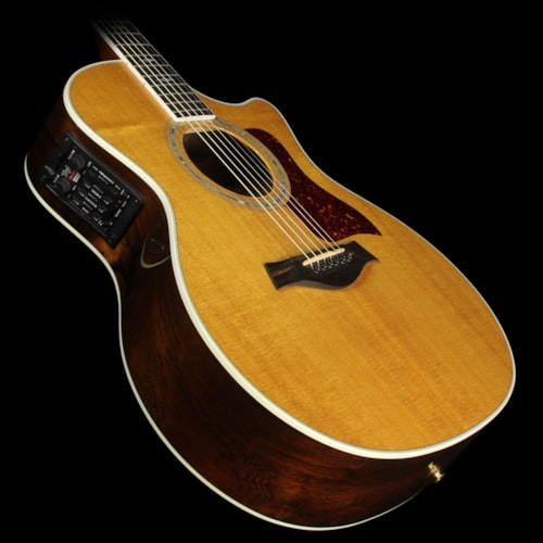 Taylor Used 1999 Taylor 814-BCE 25th Anniversary Grand Auditorium Acoustic-Electric Guitar Brazilian Rosewood