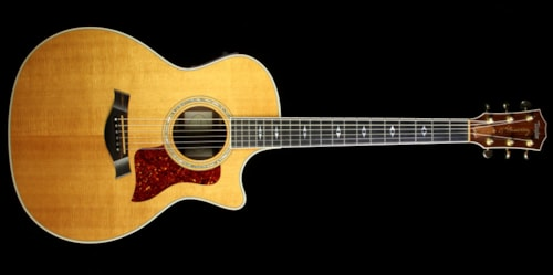 1999 Taylor Used 1999 Taylor 814-BCE 25th Anniversary Grand Auditorium Acoustic-Electric Guitar Brazilian Rosewood