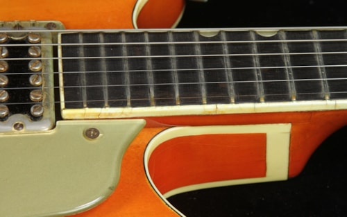 1964 Gretsch Used 1964 Gretsch 6120 Chet Atkins Electric Guitar Orange