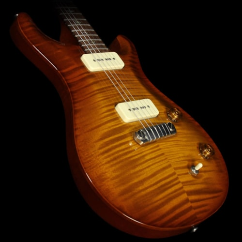 Paul Reed Smith Used 2005 Paul Reed Smith 20th Anniversary McCarty Soapbar Electric Guitar Violin Amber Sunburst