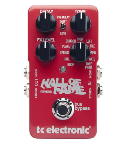 2016 TC ELECTRONIC ''HALL OF FAME'' REVERB PEDAL
