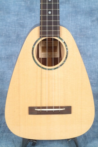 2017 ROMERO CREATIONS TINY TENOR UKULELE, SPRUCE TOP AND ROSEWOOD BACK AND SIDES, WITH SOFT CASE