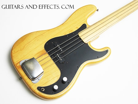 1977 Fender® 1977 Fender® Precision Bass® Fretless  factory FRETLESS MAPLE FRETBOARD REDUCED