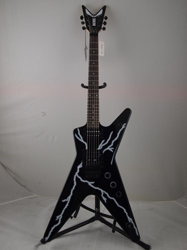 2013 Dean Black with Lightning bolt