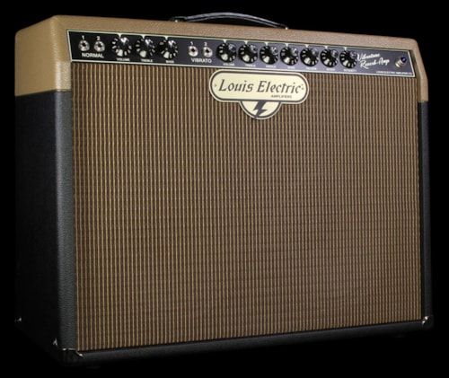 Louis Electric Used Louis Electric Amplifiers Evertone/Vibrotone 2x10 Combo