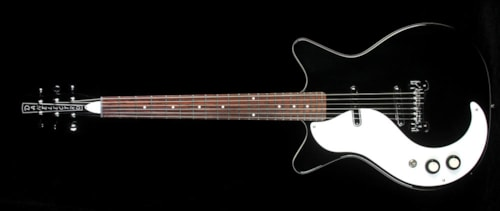 Danelectro '59 M Left-Handed Electric Guitar Black