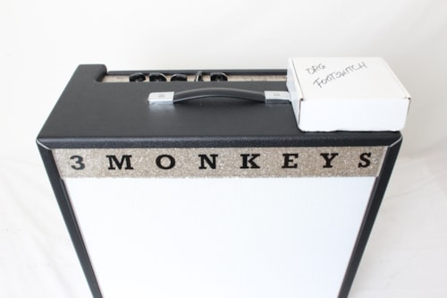 2014 3 Monkeys Amps Orangutan 1x12 Combo Black w/footswitch & cover