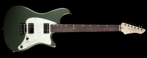 John Page Classic Ashburn HH Electric Guitar Cadillac Green