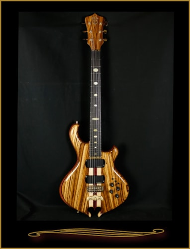 2016 Alembic Darling in Zebrawood with Side LEDs