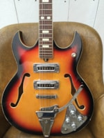 1964 Teisco Heit Japanese Hollowbody