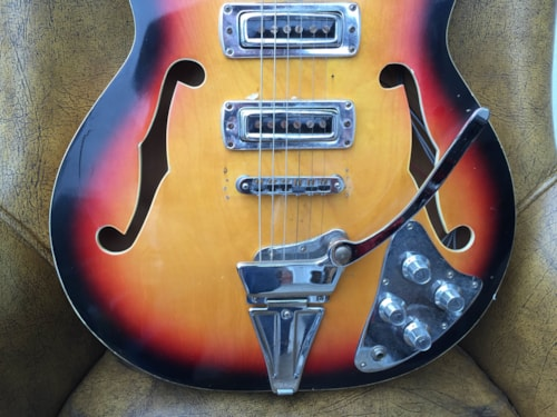 ~1964 Teisco Heit Japanese Hollowbody