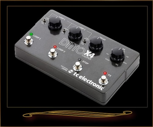 2016 TC Electronic Ditto X4 Looper Pedal