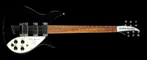 Rickenbacker Used 1990 Rickenbacker 355JL John Lennon Limited Edition Electric Guitar Jetglo