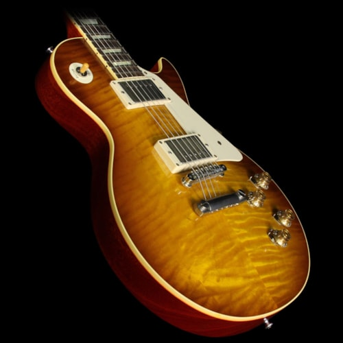2013 Gibson Custom Shop Used 2013 Gibson Custom Shop 1959 Les Paul Reissue Electric Guitar Iced Tea