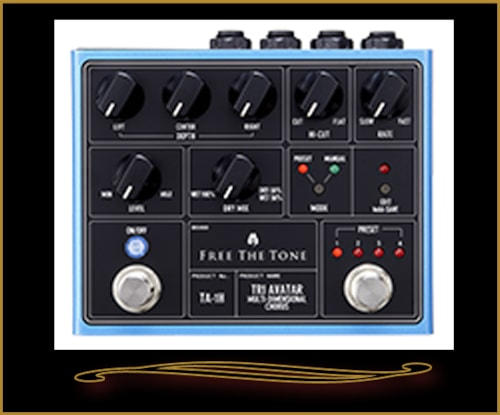 Free The Tone TA-1H Tri-Avatar Multi Dimensional Chorus