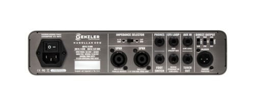 2016 Genzler Amplification Magellan 800 Bass Head