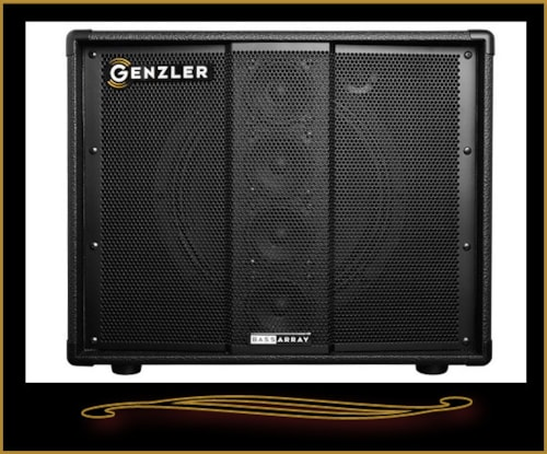 "2016 Genzler Amplification Bass Array Neo 1x12"" w/4x3"" stack"
