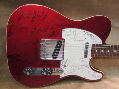 2000 Fender® Custom Shop Muddy Waters Hall of Fame Induction Telecaster® Custom