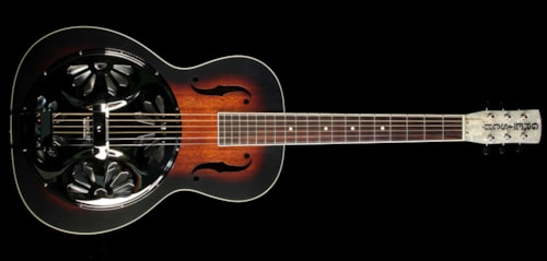 Gretsch® G9220 Bobtail Roundneck Acoustic-Electric Roundneck Resonator Guitar 2-Color Sunburst