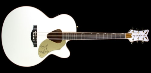 Gretsch G5022CWFE Rancher Falcon Acoustic-Electric Guitar White