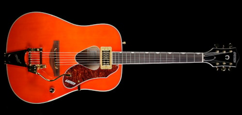 Gretsch G5034TFT Rancher Acoustic-Electric Guitar Savannah Sunset