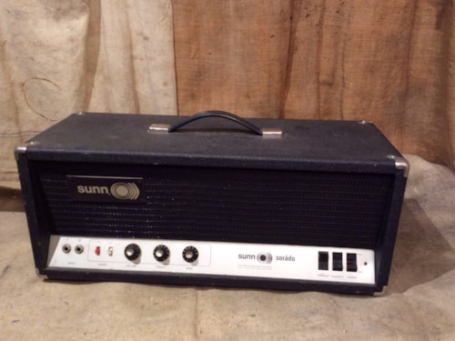 ~1972 Sunn® Sorado Guitar or Bass Amplifier Head 6550