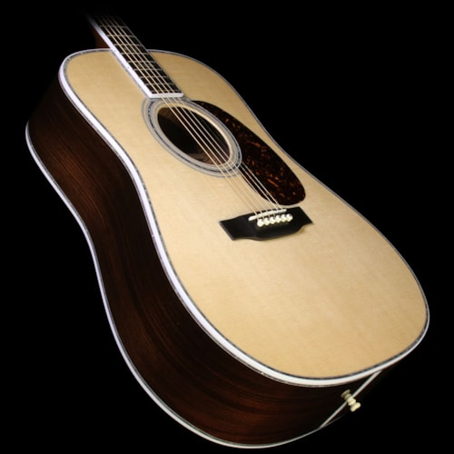 Martin D-45 Dreadnought East Indian Rosewood Acoustic Guitar Natural