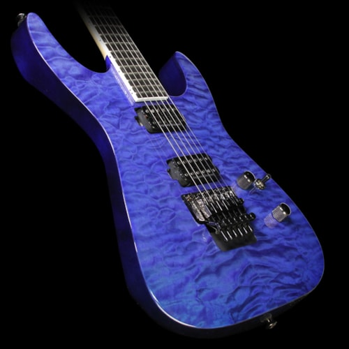Jackson Pro Series SL2Q Soloist Electric Guitar Transparent Blue