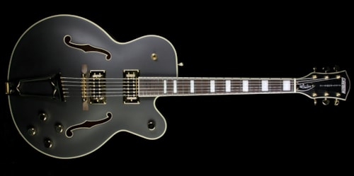 Gretsch G5191BK Tim Armstrong Signature Electric Guitar Flat Black