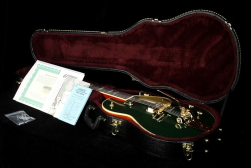 Gretsch® G6128TCG Duo Jet Electric Guitar Cadillac Green