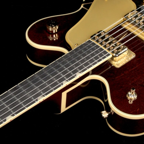 1962 Gretsch G6122T-62GE Vintage Select Edition 1962 Chet Atkins Country Gentleman with Bigsby Electric Guitar Walnut Stain