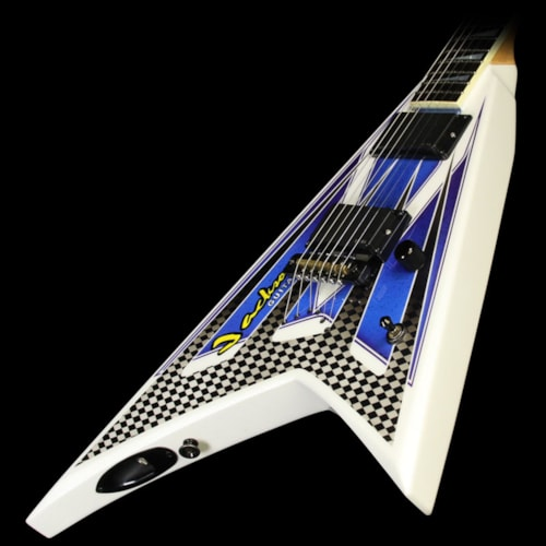 Jackson Used Jackson Custom Shop XTRR Rhoads Electric Guitar Jackson Graphic with Reverse Headstock