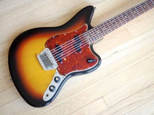 1966 Fender® Electric XII Vintage 12 String Electric Guitar Near Mint