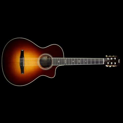 Taylor 712ce-N Grand Concert Nylon String Acoustic/Electric Guitar Vintage Sunburst