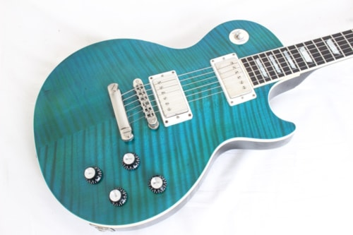 2004 Gibson Les Paul Standard Limited Edition Pacific Reef Blue w/case