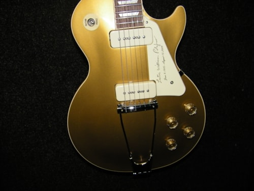 2013 Gibson les paul gold top tribute limited edition