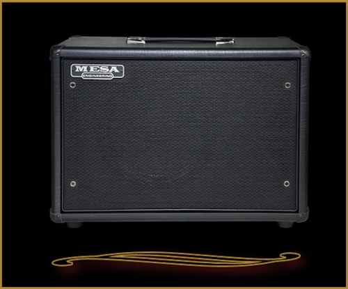 2016 Mesa Boogie Compact 1x12 Widebody Closed Back Cabinet